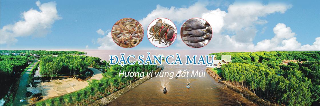 Banner Đặc sản Cà Mau