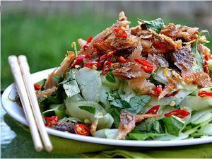 Các món ngon chế biến từ khô cá sặc rằn Cà Mau