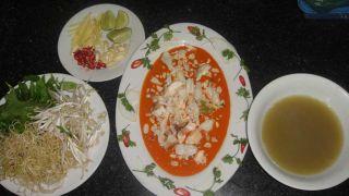 Cách làm món tiết canh cua Cà Mau