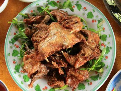 Chuột đồng chiên sả ớt - món ngon của nông dân nam bộ