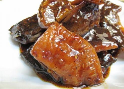Khô cá lóc rim chua ngọt - đánh lừa vị giác ngày đông