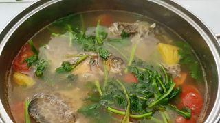 Cá nâu nấu ngót