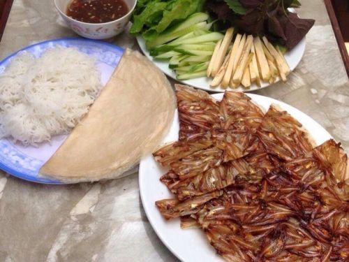 Bánh tráng cá cơm ảnh 4