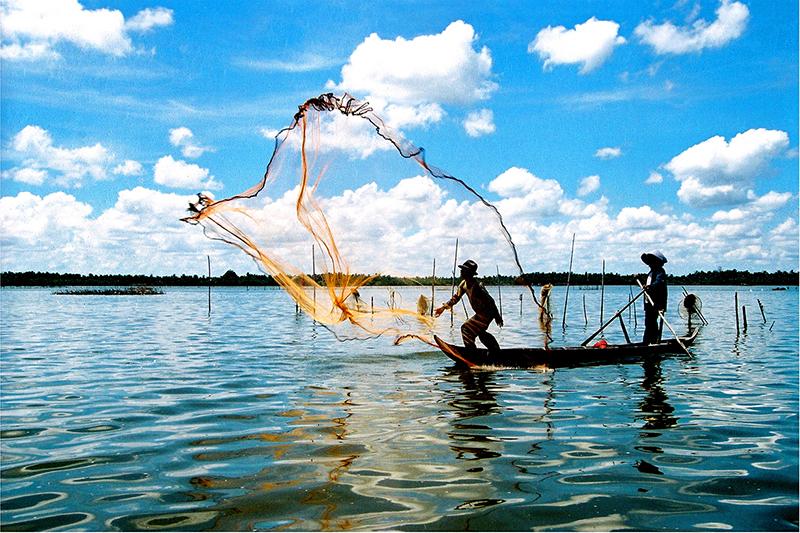 Tài nguyên thủy hải sản ở đầm